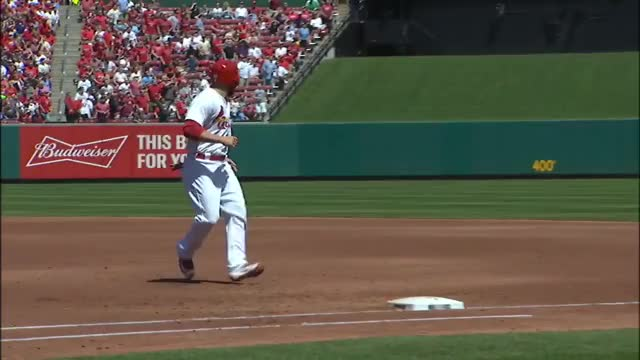 Watch Grichuk passes Moss on trot GIF on Gfycat. Discover more related GIFs on Gfycat
