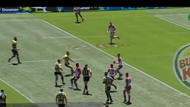 Watch and share Jai Field Vs Eels (Auckland Nines 2017) GIFs on Gfycat