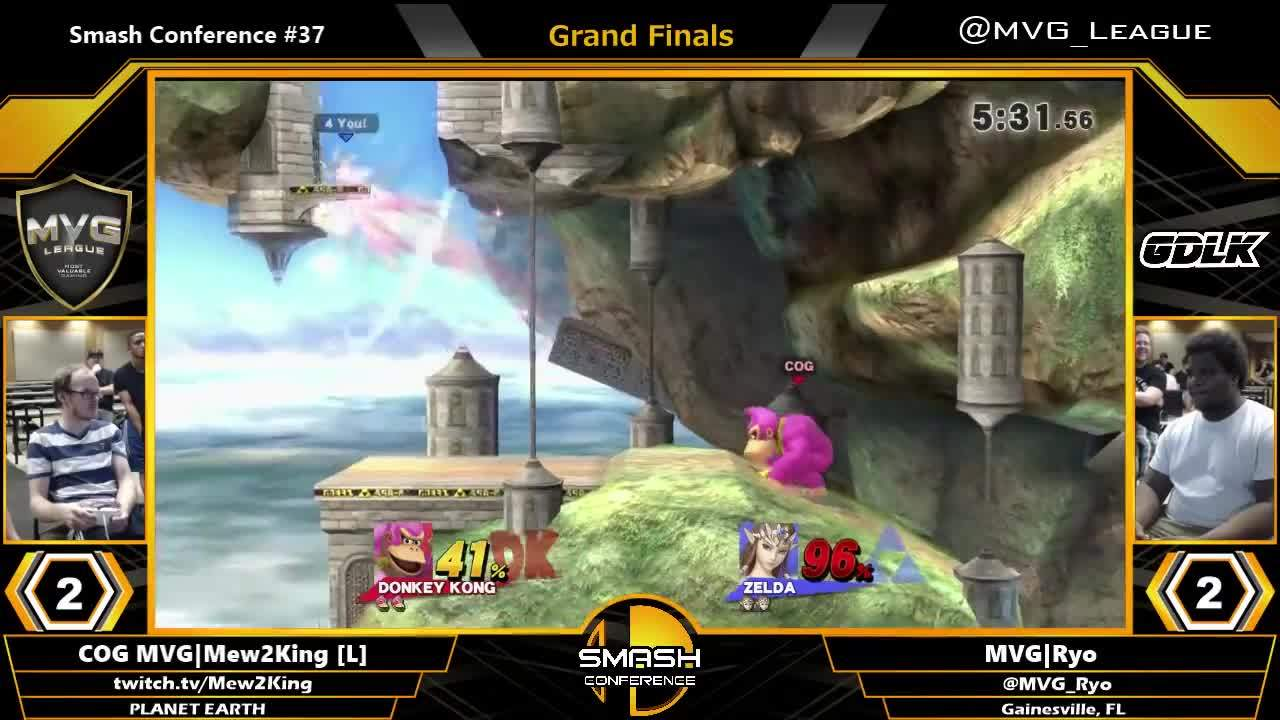 ▷ COG MVG|Mew2King vs  MVG|Ryo - SSB4 Grand Finals - Smash