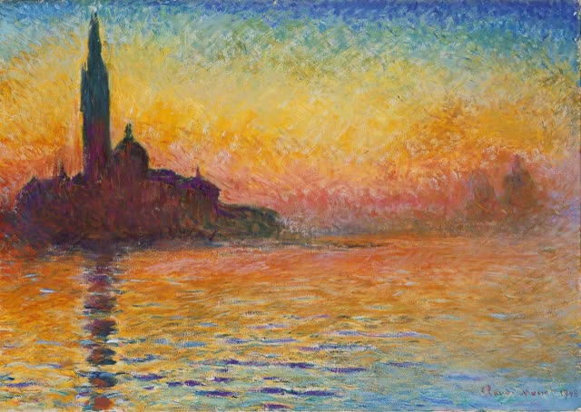 Watch San Giorgio Maggiore at Dusk - Monet Cinemagraph GIF by @razmig on Gfycat. Discover more Cinemagraph, Claude Monet, Monet, Razmig, San Giorgio Maggiore at Dusk GIFs on Gfycat