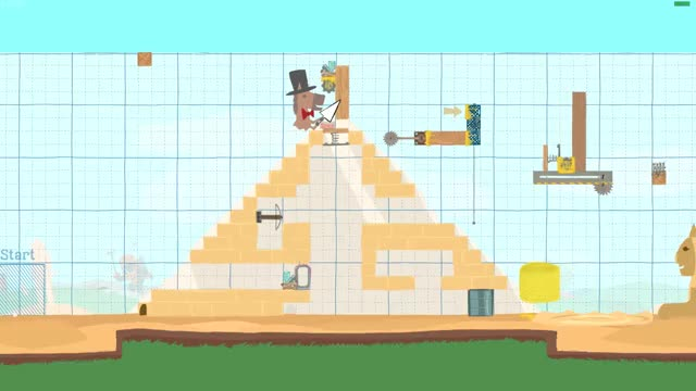Watch and share Ultimate Chicken Horse - Teleport On Round Start Bug GIFs by Spee on Gfycat