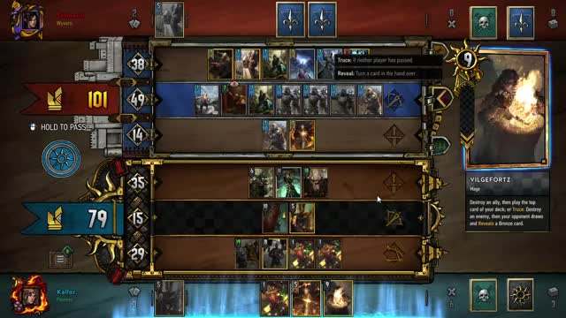 Watch and share Gwent 13 09 2018 22 13 25 GIFs on Gfycat