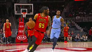 Watch DeAndre' Bembry — Atlanta Hawks GIF by Off-Hand (@off-hand) on Gfycat. Discover more 031319 GIFs on Gfycat