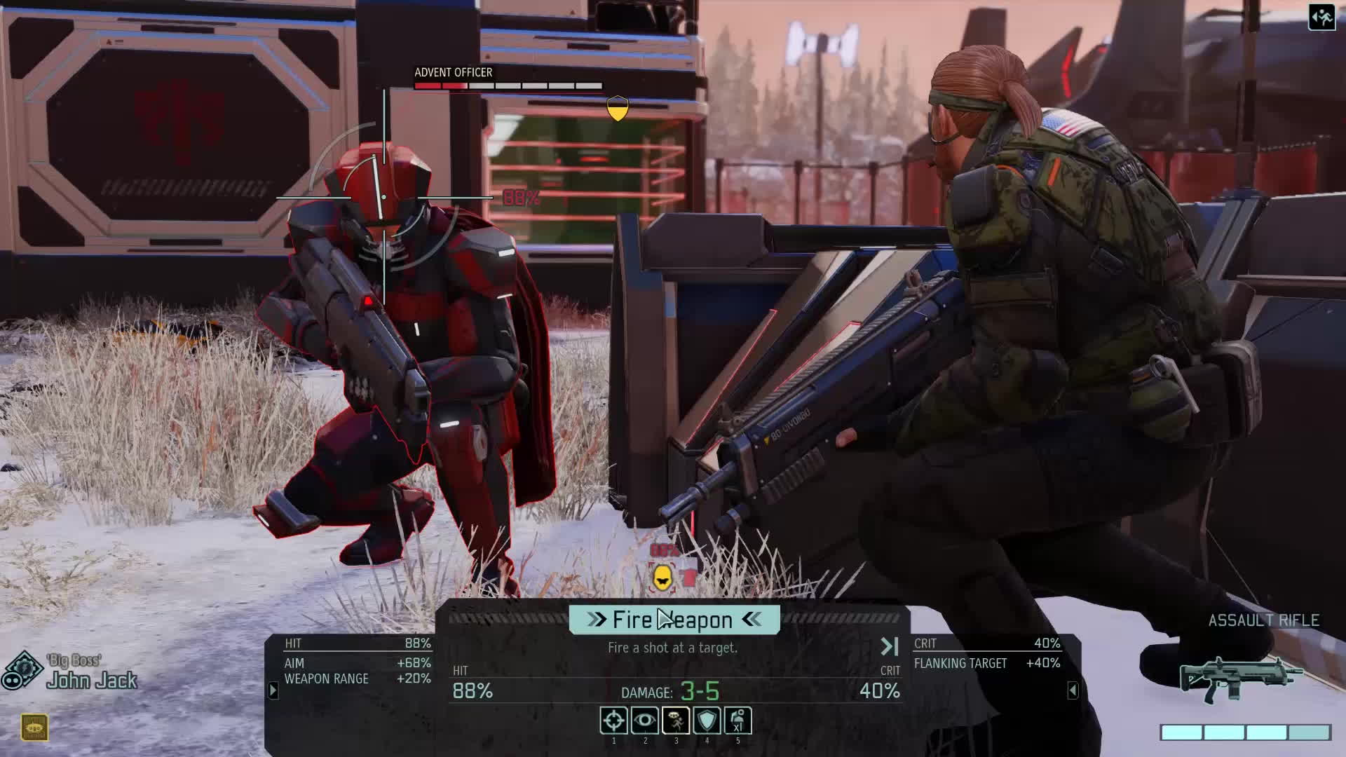 Xcom2 Frank Drebin Joins The Resistance X Post From R Xcom Reddit Gif By Erixperience Find Make Share Gfycat Gifs
