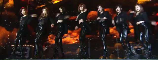 After School - First Love [SBS Gayo Daejeon] (reddit) GIF