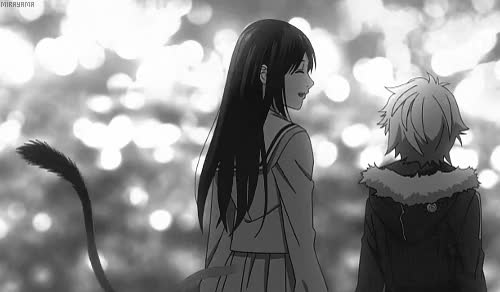 Watch gif 1k anime monochrome yukine noragami Hiyori Iki iki hiyori stray god *noragami GIF on Gfycat. Discover more related GIFs on Gfycat