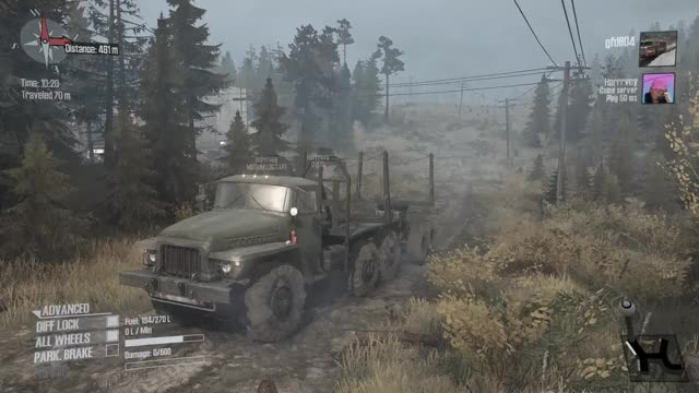 Watch and share Spintires Mudrunner GIFs and Off Roading GIFs by parias on Gfycat