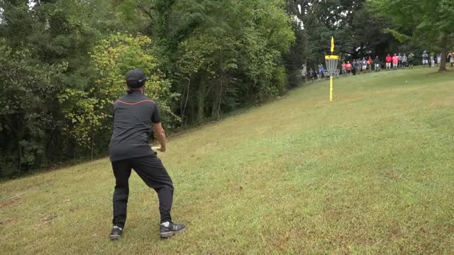 Watch USDGC 2017 Chase Card Back 9 Final GIF by Ultiworld Disc Golf (@ultiworlddg) on Gfycat. Discover more DGWT, Gregg Barsby, Max Nichols, PDGA, Paul McBeth, USDGC, Winthrop Gold, Zackeriath Johnson, discgolf, tournament coverage GIFs on Gfycat