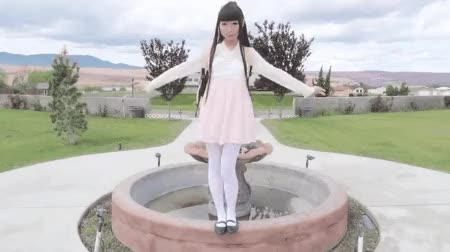 Watch and share Girl Dress White Pantyhose GIFs by Necropixistix on Gfycat