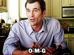 Watch and share Ty Burrell GIFs and Omg GIFs on Gfycat
