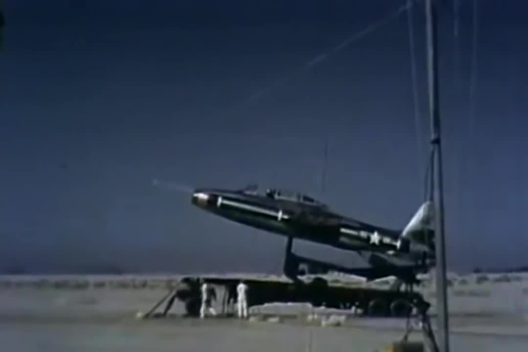 aviationgifs, The Air Force Flight Test Center Edwards Air Force Base (1957) (reddit) GIFs