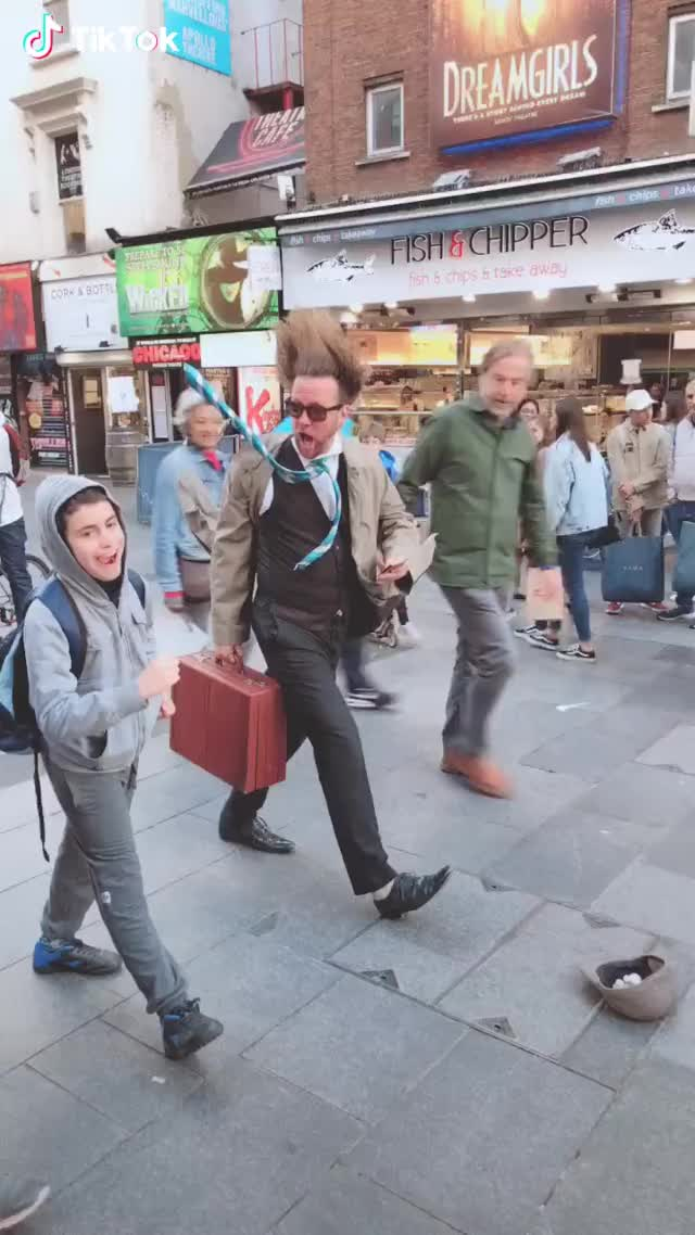 Watch Street performers GIF by TikTok  (@funniestgifs) on Gfycat. Discover more related GIFs on Gfycat