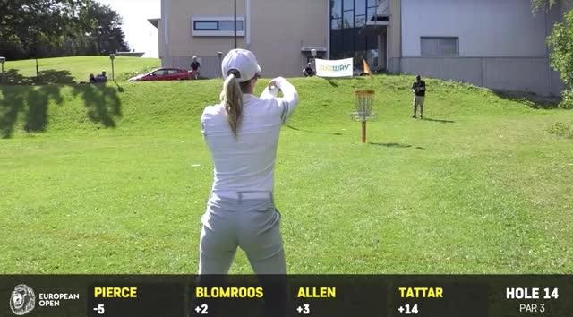 Watch and share European Open Round 2 Catrina Allen Hole 14 Putt GIFs by Benn Wineka UWDG on Gfycat
