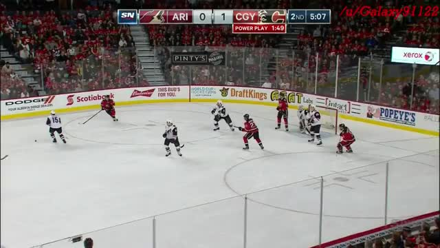 Watch and share Coyotes GIFs and Hockey GIFs by galaxy9112 on Gfycat