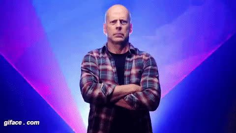 bruce willis, Funny Bruce Willis animation GIFs