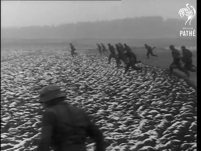 Watch German Army Manoeuvres (1954) GIF on Gfycat. Discover more 2640.17, British Pathe, BritishPathe, Danube, Dr, Gerhard, Reuters, documentary, footage, newsreel GIFs on Gfycat