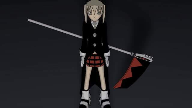 Watch and share Maka Albarn - 3D Lowpoly Model Gif By Guiscoz GIFs on Gfycat