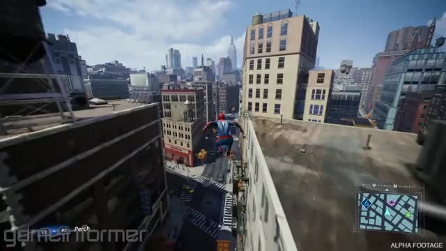 Watch and share Game Informer GIFs and Web Swinging GIFs on Gfycat