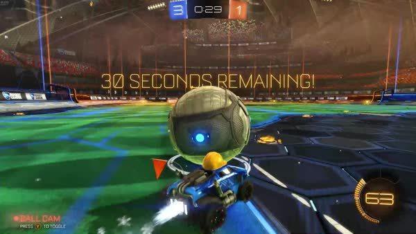 rocketleague, Spun backwards? Fuck it, keep it rolling GIFs