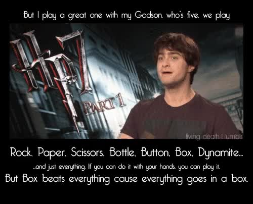 Watch and share Daniel Radcliffe - Harry-potter Photo GIFs on Gfycat