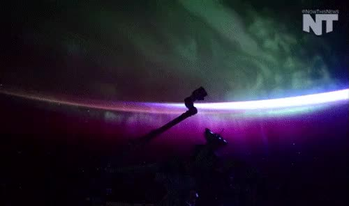 Watch and share Aurora Borealis GIFs and Year In Space GIFs on Gfycat