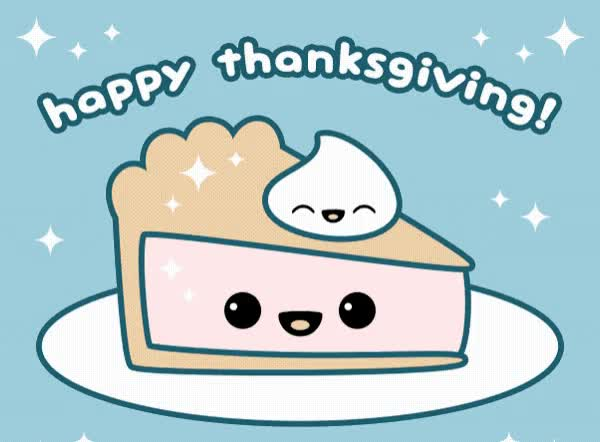 Watch this thanksgiving GIF by GIF Queen (@ioanna) on Gfycat. Discover more Happy, Thanksgiving, celebrate, cute, dinner, family, meal, pie, sweet GIFs on Gfycat