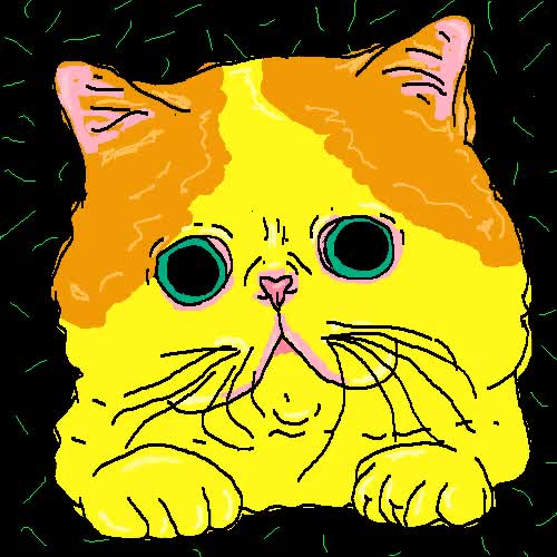 Watch and share Cat   Illustration   Dope   Kill   #psycho   #third #eye   #subliminal #messages   #subliminal Message   #gif   #gifs GIFs on Gfycat