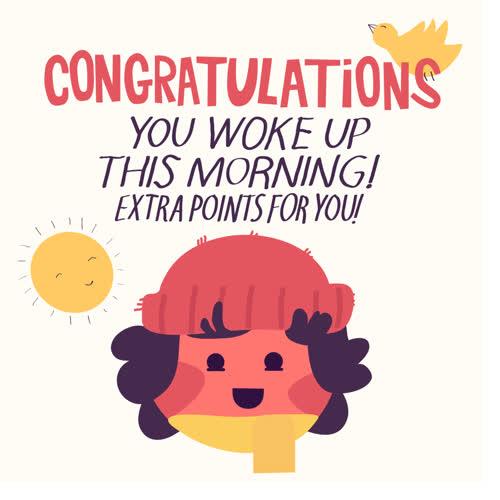 good morning, morning, rise and shine, wake up, Good Morning GIFs