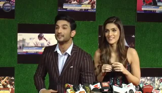 Watch and share Kriti Sanon STOPS Angry Sushant Singh Rajput From SHOUTING ! GIFs on Gfycat