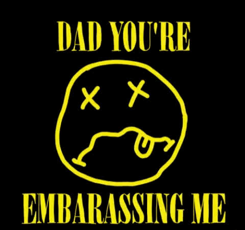 angst, embarrassed, embarrassing, faye orlove, ugh, Dad You're Embarassing Me GIFs