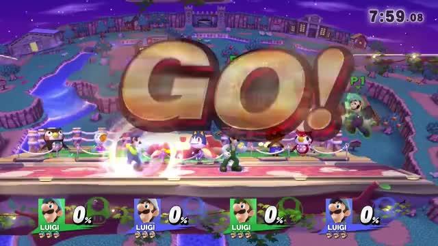 Watch and share 'smash 4 Wii U' GIFs and ' Luigi Teams' GIFs by yesman419 on Gfycat