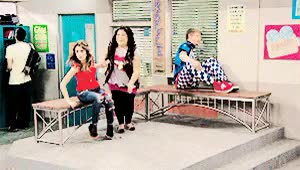 """Watch """"Uh huh, Uh huh - sure.. sure"""" GIF on Gfycat. Discover more auslly, austin & ally, austin and ally, austin moon, calum worthy, coss, coss wynch, dez, dez wade, deztin, raura, ross lynch, seniors & senors, seniors and senors GIFs on Gfycat"""