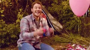 Watch this confetti GIF by The GIF Smith (@sannahparker) on Gfycat. Discover more andy dwyer, celebrate, chris pratt, confetti, grand gesture, i love you, love, parks and rec, romance, romantic, rose petals, valentines day, yay GIFs on Gfycat