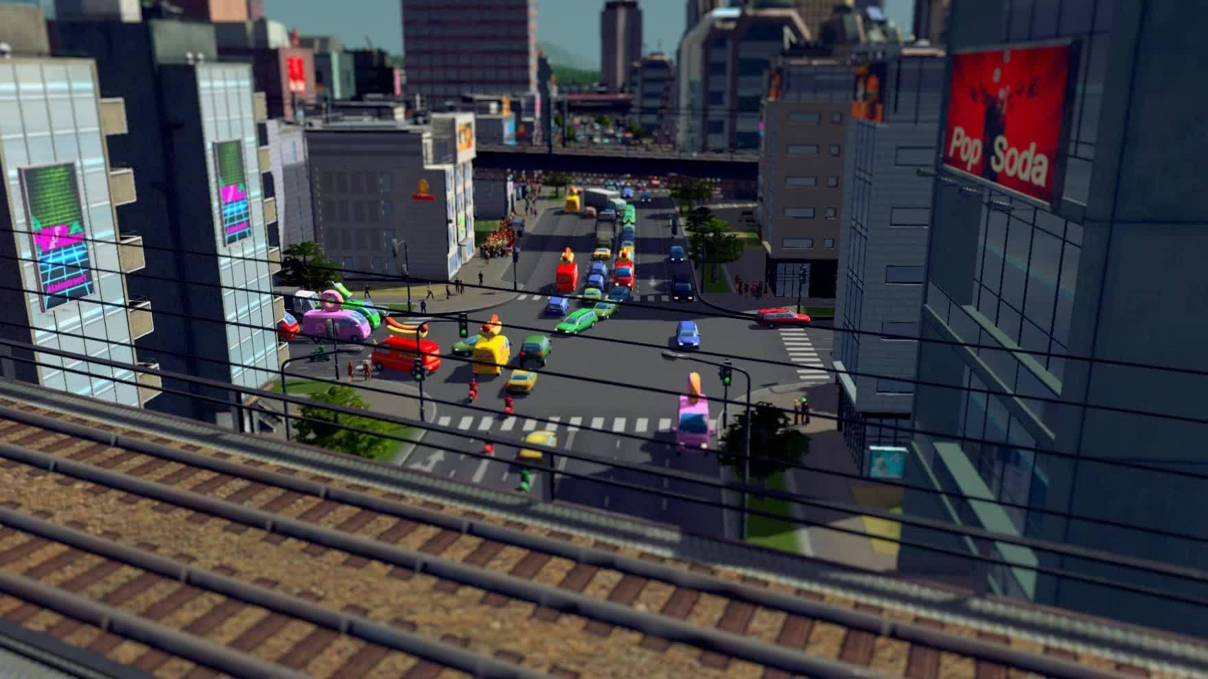 CitiesSkylines, citiesskylines, roadcam, Cities Skylines GIFs