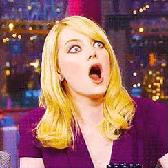 Watch this shocked GIF on Gfycat. Discover more emma stone GIFs on Gfycat