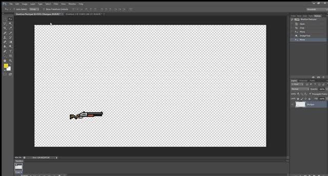 Watch and share ShotGun Pixel.psd @ 459% (Shotgun, RGB 8) 2020-02-19 15-18-32 GIFs on Gfycat