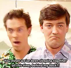Watch Endless List of Liferuiners: Stephen Fry & Hugh Laurie GIF on Gfycat. Discover more QI, fry and laurie, house, hugh laurie, liferuiners, stephen fry GIFs on Gfycat