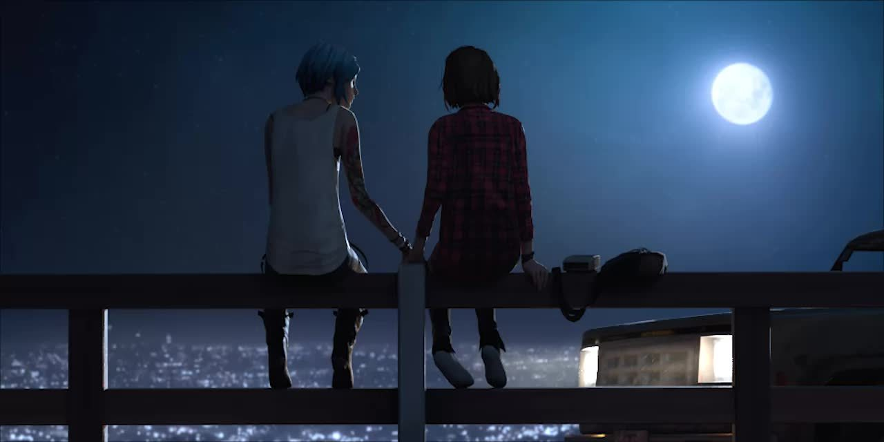 chloeprice, lifeisstrange, pricefield, Seattle at night GIFs