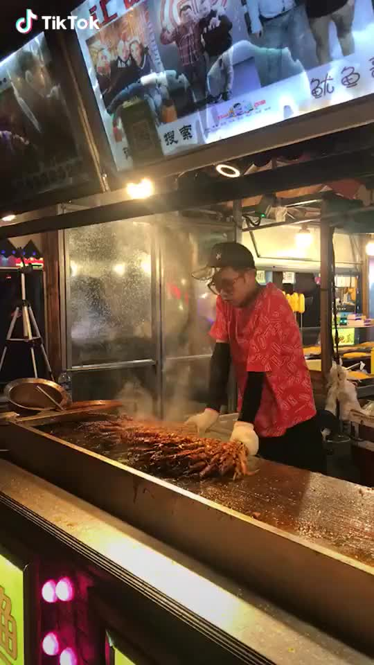 Watch and share Barbecue Tricks GIFs by TikTok on Gfycat
