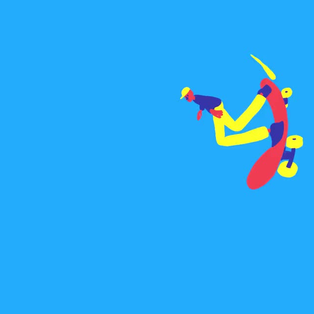 Watch Skater Dude GIF by Jake Allen (@jakemadeathing) on Gfycat. Discover more 3d, animation, cg, deformer, houdini, mirror, mograph, motiongraphics, photoshop, spherical GIFs on Gfycat