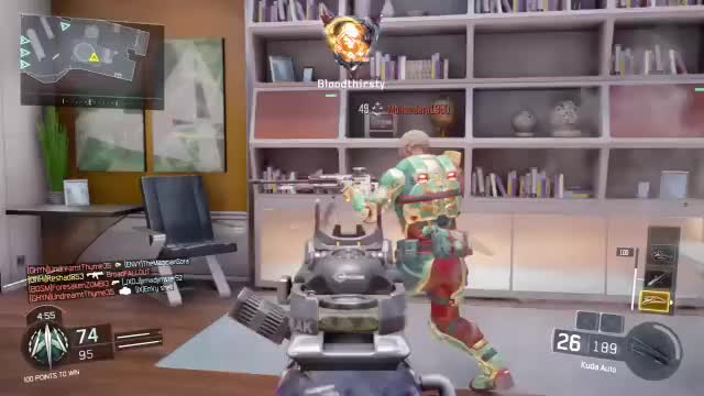 Watch Yikes! Survived two attempted Gravity Spikes GIF by @youthereogre on Gfycat. Discover more blackops3 GIFs on Gfycat
