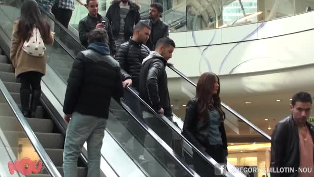 Watch and share Touching Hand GIFs and Escalator GIFs on Gfycat