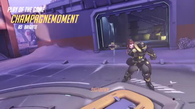 Watch poggers GIF on Gfycat. Discover more PS4share, Gaming, M Peccia, Overwatch: Origins Edition, PlayStation 4, Sony Interactive Entertainment, champagnemoment GIFs on Gfycat