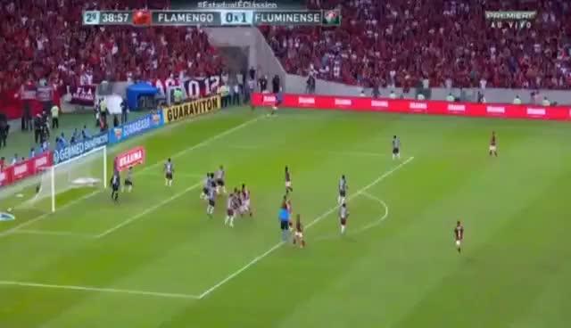 Watch and share Gol De Guerrero! Flamengo 2 X 1 Fluminense - Final Do Campeonato Carioca 2017 GIFs on Gfycat