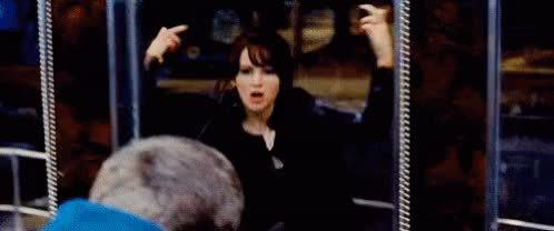 Watch and share Jennifer Lawrence GIFs and Middle Finger GIFs on Gfycat