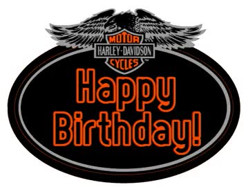 Watch and share Happy Birthday-Harley Davidson GIFs on Gfycat