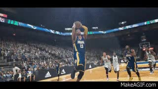 Watch and share NBA 2K17 - #FRICTION GIFs on Gfycat