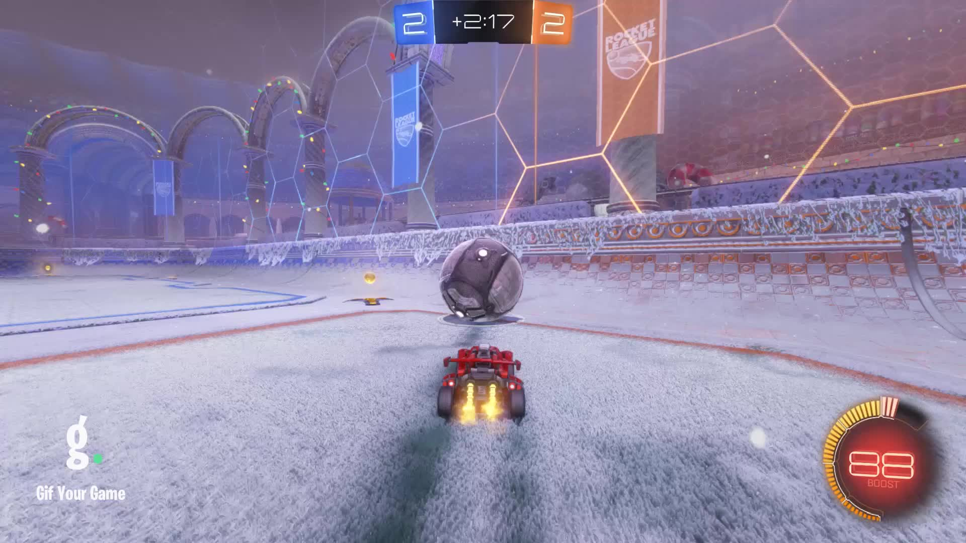 Gif Your Game, GifYourGame, Goal, Rocket League, RocketLeague, The Tiny Biscuit, Goal 5: The Tiny Biscuit GIFs