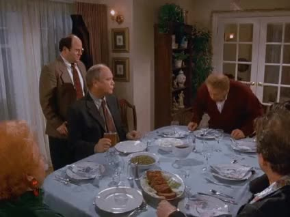 festivus, festivus for the rest of us, frank costanza, happy festivus, holiday, seinfeld, Seinfeld Festivus Frank Costanza Let's Rumble GIFs