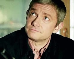Watch and share The Sign Of Three GIFs and Martin Freeman GIFs on Gfycat